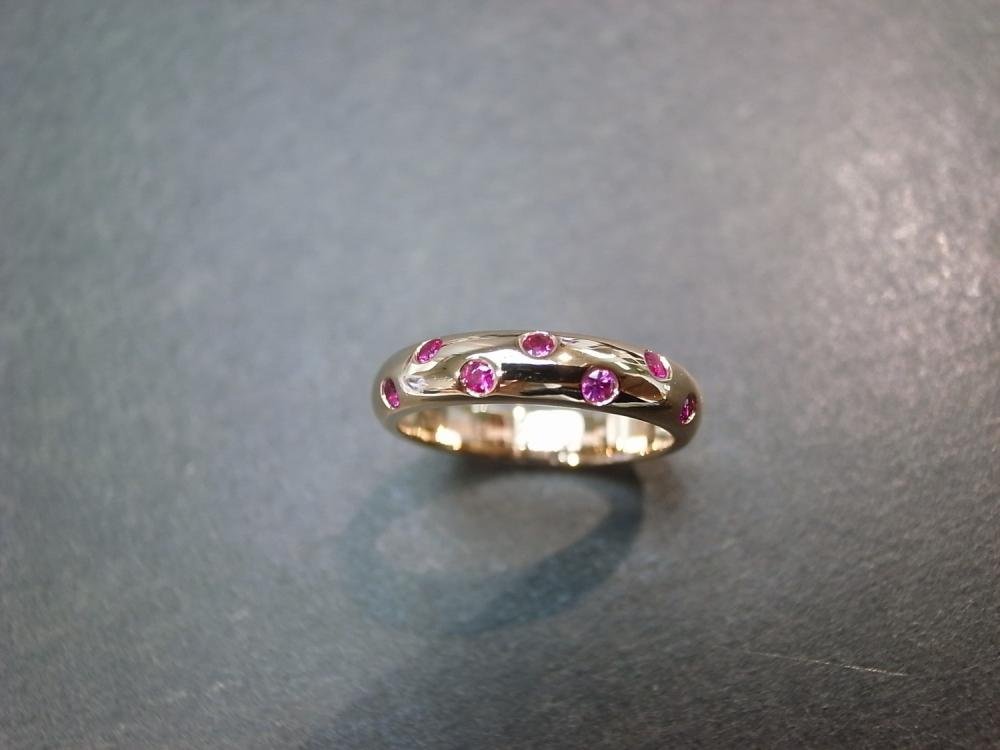 Ruby Ring in 14K Rose Gold