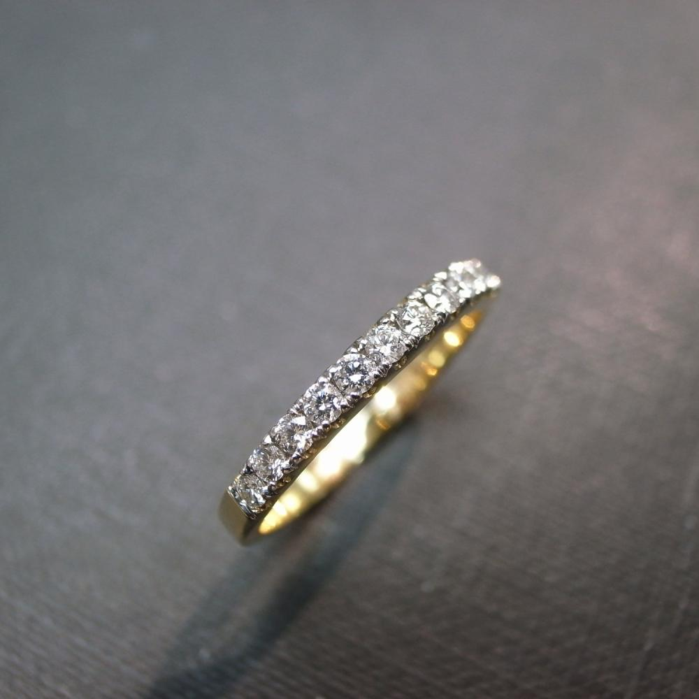 Anniversary Diamond Ring in 14K Yellow Gold