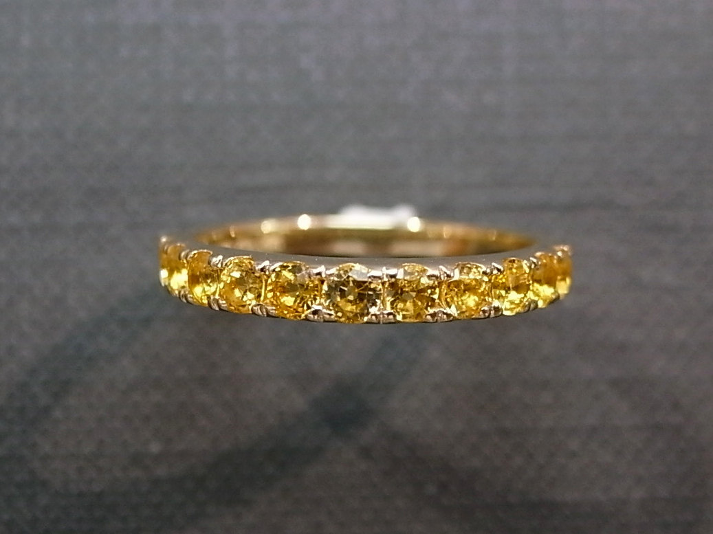 Yellow Shire Wedding Ring In 14k Gold